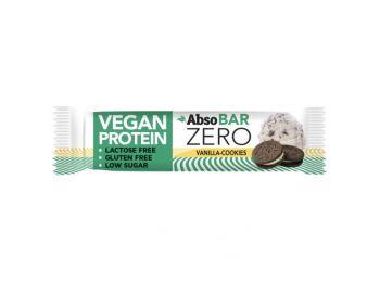 Absobar zero protein szelet vaníliás keksz íz 40g