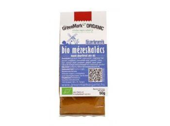 Greenmark bio mézeskalács fűszerkeverék 50g