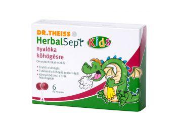 Dr.Theiss herbalsept nyalóka torokfertőtlenítő 6db