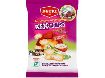 Detki kexchips hagymás-tejfölös gluténmentes 75g