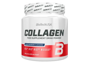 Biotech collagen italpor fekete málna 300g