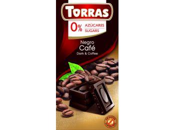 Torras étcsokoládé kávé 75g