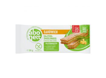 Abonett sandwich sajtos-snidlinges gluténmentes 26g