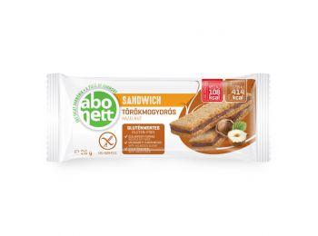 Abonett sandwich törökmogyorós gluténmentes 26g