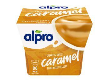 Alpro szójadesszert karamell 125g