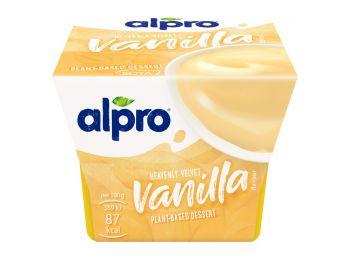 Alpro szójadesszert vanília 125g