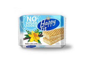 Happy fit ostya vaníliás hcukormentes 95g