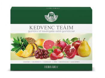 Herbária kedvenc teáim gyümölcs 6x5db 30filter