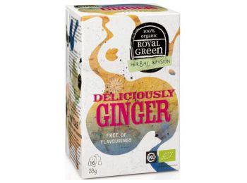 Royal green bio tea gyömbér-citromfű-kurkuma 16filter