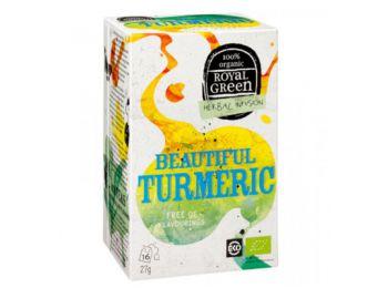 Royal green bio tea kurkuma - citrom 16filter