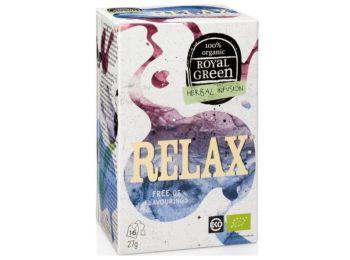 Royal green bio tea relax 16filter