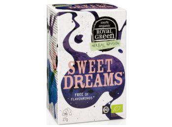 Royal green bio tea sweet dreams 16filter