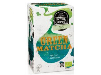 Royal green bio tea zöld matcha 16filter