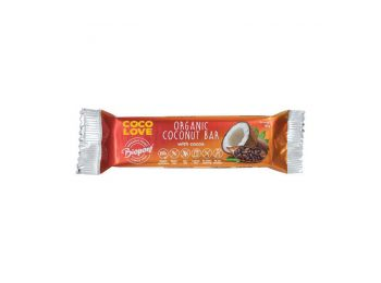 Biopont bio coco love kókusz-kakaó szelet gluténmentes la