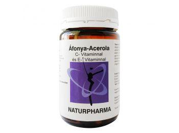 Naturpharma áfonya-acerola kapszula 60db