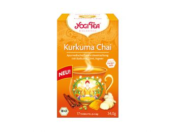 Yogi bio kurkuma chai tea 17filter