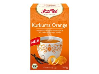Yogi bio kurkuma narancs tea 17filter