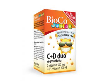 Bioco c+d duo junior rágótabletta 100db