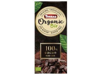 Torras bio étcsokoládé 100% kakaótartalom 100g