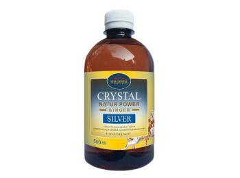 Crystal silver natur power ginseng+gyömbér 500ml