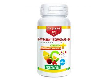 Dr.Herz c-vitamin+d3+zn-tabletta 60db