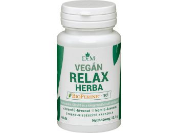 Dr.m vegán relax herba kapszula 60db