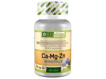 Herbioticum kalcium+magnézium+cink tabletta 60db
