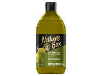 Nature box sampon olíva hosszú hajra 385ml
