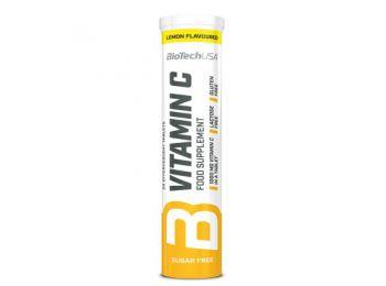 Biotech peszgőtabletta c-vitamin citrom 20db