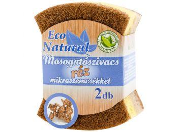 Eco natural mosogatószivacs réz mikroszálas 2db