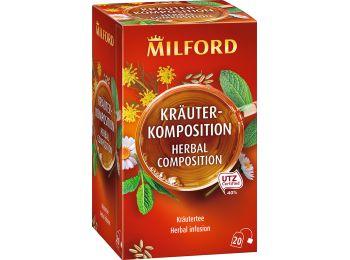 Milford gyógynövénytea teakeverék 20filter
