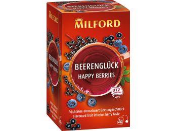 Milford gyümölcstea bogyósgyümölcs 20filter