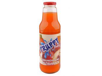 Fruppy ital sárgarépa-Alma-Őszibarack 750ml