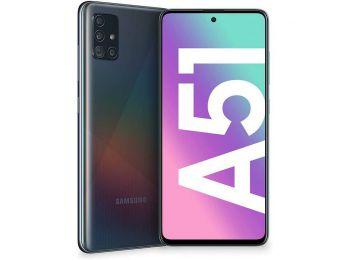 Samsung Galaxy A51 128GB 4GB RAM Dual Fekete