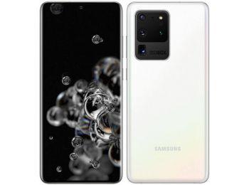 Samsung Galaxy S20 ULTRA G988B 5G 128GB Dual Sim Fehér