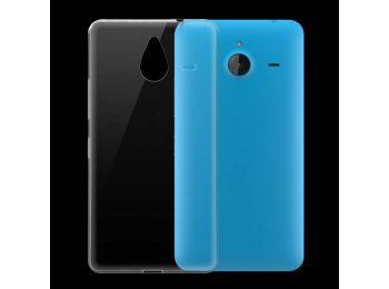 Nokia 640 XL átlátszó szilikon tok
