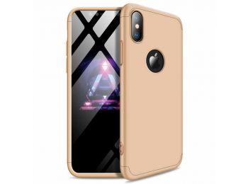 360 tok Iphone X készülékhez, arany