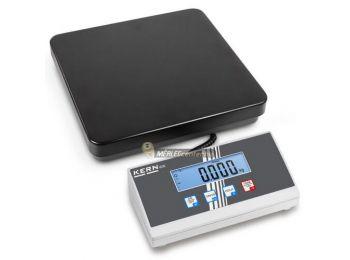 KERN EOE 100K-2 (150kg/50g) platform- csomagmérleg kisállatmérő és darabszámláló funkcióval 2évG