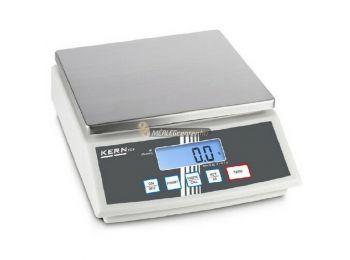 KERN FCB 3K0.1 (3000g/0,1g) darab- és százalékszámító, kisállat számláló digitális asztali mérleg 3évG