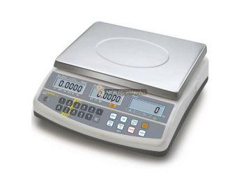 KERN CFS 6K0.1 (6000g/0,1g) darabszámláló memóriás (100 cikknek) digitális asztali mérleg 3évG