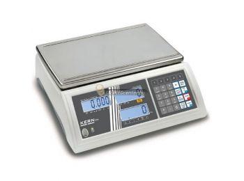 KERN CFS 50K-3 (50000g/1g) darabszámláló memóriás (100 cikknek) digitális asztali mérleg 3évG