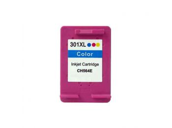 hp 301XL színes utángyártott tintapatron (Hp 1510 géphez is jó!)