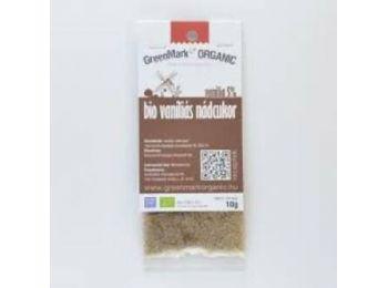 Greenmark bio Vaníliás nádcukor, vanília 5%, 10g