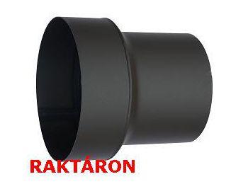 Vastagfalú füstcső bővítő 180/200 mm átm.