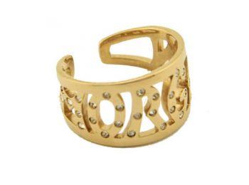 Morgan Gyűrű, MORGAN LETTER ZVR381JH-54