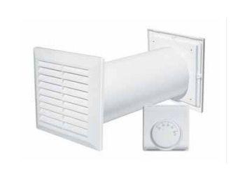 Awenta CM100 kisvetilátor, termosztáttal