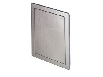 Awenta DT10SR műanyag szervizajtó 150X150 ezüst színben