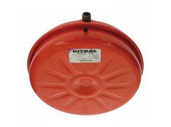 GITRAL VPC-B-12 lapos kerek fűtési tágulási tartály 12l