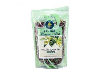 Golden sail szálas zöld tea vanilia 100g