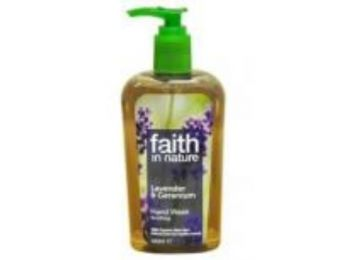 Faith in Nature Levendula és Geránium folyékony kézmosó (300ml)